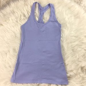 Lululemon Lavender Purple Racerback Tank Top